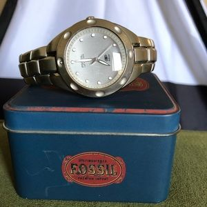 Reduced Mens Fossil watch
